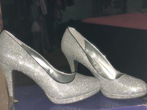 silver heels for Sale in Houston, TX