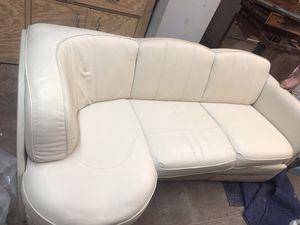 Flex-Steel Leather RV Sofa for Sale in Summerfield, FL