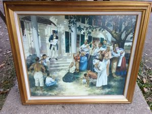 3' x 2' Juneteenth framed picture on canvas for Sale in Washington, DC