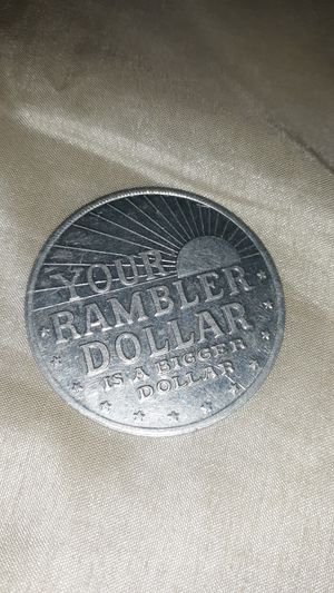 Rambler dollar advertising coin for Sale in Paragould, AR