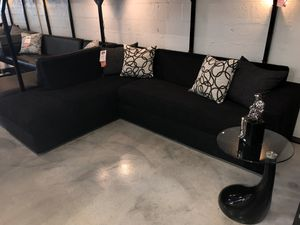 Black 2PC Sectional for Sale in Miami Springs, FL