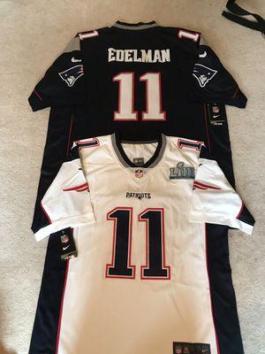 Julian Edelman patriots Super Bowl jerseys for Sale in Boston, MA