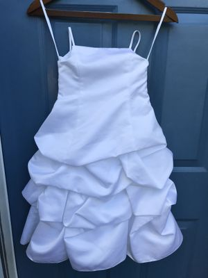 Flower Girl Dress - White - Sz 3 for Sale in Raleigh, NC