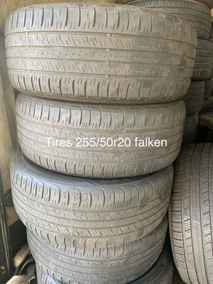 Tires 255-50r20 falken for Sale in Anaheim, CA