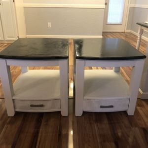 Farmhouse Style End Tables for Sale in Lewisville, TX