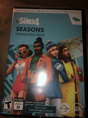 Sims 4 Seasons PC game for Sale in North Charleston, SC