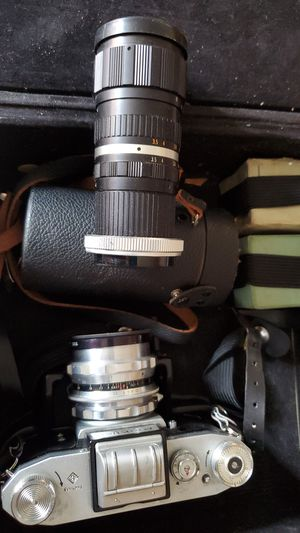 Praktica FX3 Camera with 2 lens for Sale in Queens, NY