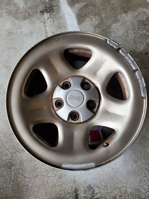 Jeep wrangler wheel set of 4 for Sale in Marina, CA