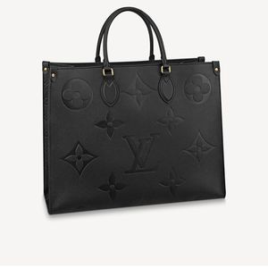 Louis Vuitton black tote bag 16.1 X 13.4 X 7.5 Inches Onthego GM 44925 for Sale in Brentwood, MD
