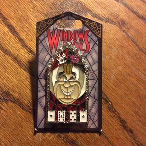 Queen of Hearts Windows of Evil Disney Pin Alice in Wonderland Disneyland Walt Disney World DL WDW LE Limited Edition 2000 for Sale in Orange, CA