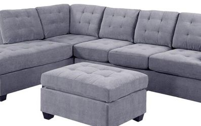 Used Reversible Sectional with Ottoman for Sale in Carlsbad,  CA