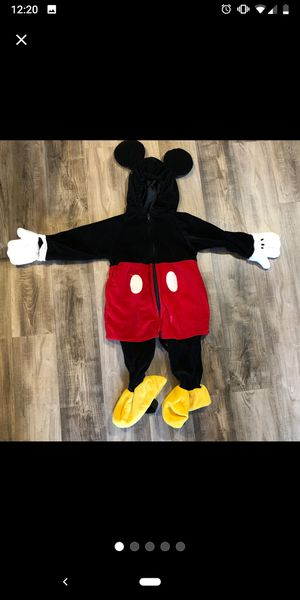 Toddler Mickey Mouse Costume for Sale in Elma, WA