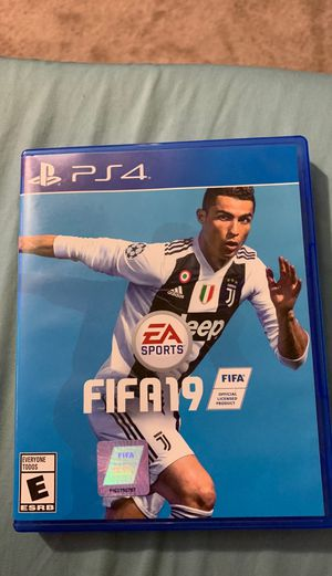 PS4 FIFA19 GAME for Sale in Palmdale, CA