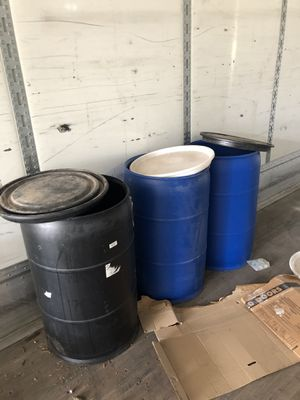55 gallon barrels/drums for Sale in Davie, FL