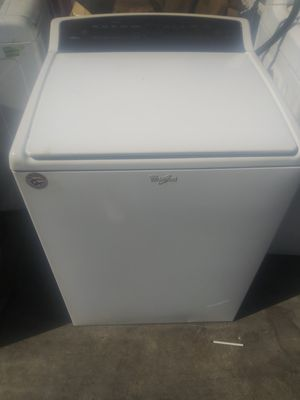 Whirlpool Cabrio Top Load Washing-Machine Set for Sale in Chino Hills, CA