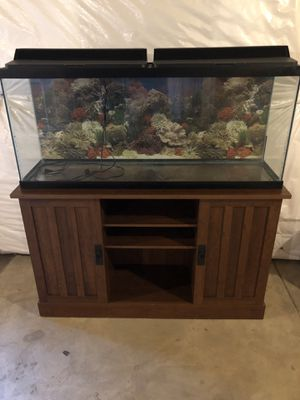 Fish tank and stand for Sale in Fredericksburg, VA