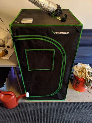 "Vivosun 24""x24""x48"" grow tent with 1200w eq LED light for Sale in San Diego, CA"