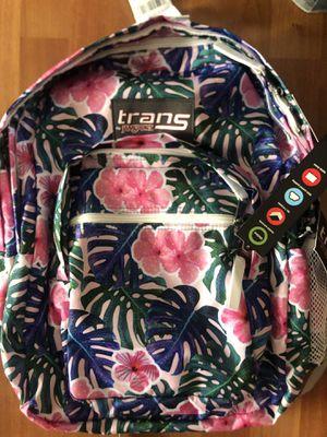 New Jansport backpack floral print for Sale in Garrison, MD