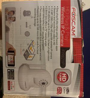 Foscam wireless ip hd severity camera for Sale in Richland, WA