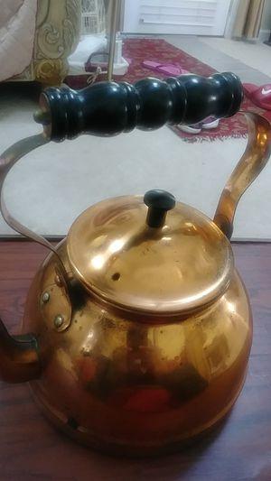 COPPER TEA POT for Sale in Marietta, GA