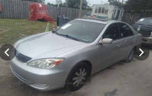 2002 toyota camry le clean title. 116k miles. Sunroof for Sale in Pembroke Pines, FL