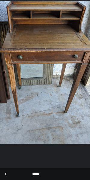 Antique Desk/secretary 20 early century for Sale in Downey, CA