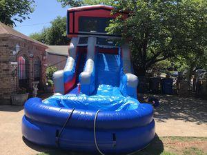 15 ft tall 30 ft long water slide for Sale in Cedar Hill, TX