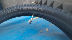 Allterra 27.5x2.10 54-584 (650B) Innova mountain bike tires and 1 specialized tube for Sale in Phoenix, AZ