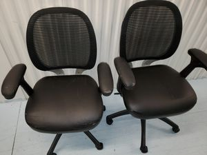 2 office chairs $20 each. for Sale in West Palm Beach, FL