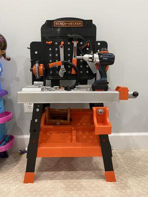 Black + Decker work bench for kids for Sale in Ellicott City, MD