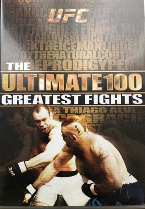 UFC The Ultimate 100 Greatest Fights for Sale in Los Angeles, CA