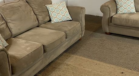 Beige Couch And Loveseat FREE DELIVERY for Sale in West Chester,  PA