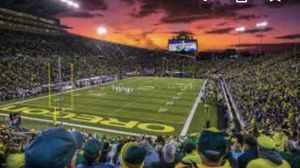 Ducks football tickets for Oct 26th game against Washington State. Great seats, near concession and restrooms. Only a few rows up from entry level for Sale in Gresham, OR