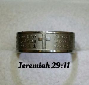 New Jeremiah 29:11 Rings. Sizes 6-12 Will NOT turn your finger green. for Sale in St. Louis, MO