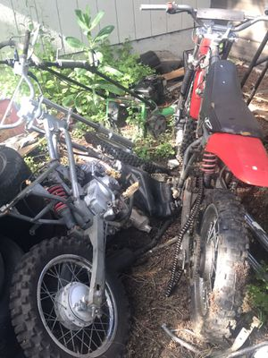Baja dirt bikes 110 sold for Sale in Damascus, OR