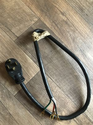 washer/dryer power cable( 4wires ) for Sale in Auburn, WA