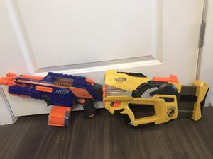 Nerf Battery operated toy guns for Sale in Wheaton, MD