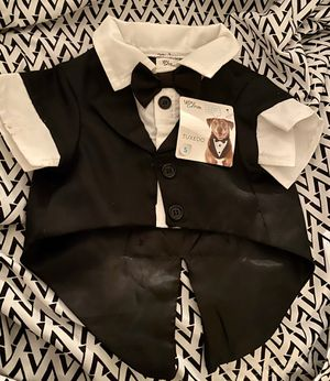 Tuxedo with tails for a dog. Size small for Sale in Beaverton, OR
