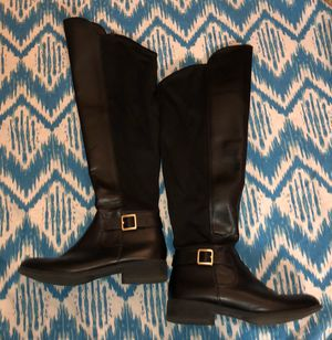Black knee high boots for Sale in Ann Arbor, MI