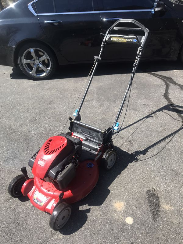 Toro self propelled lawn mower