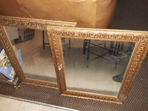 2 glass mirrors for the wall for Sale in Lorain, OH