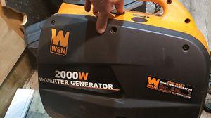 Wen 2000w Inverter Generator for Sale in Portland, OR