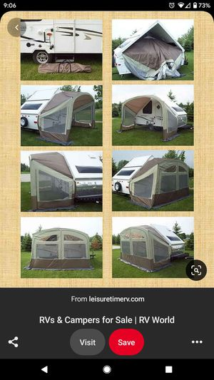 Tent extension for ALiner/Hard side popup trailer for Sale in Santee, CA