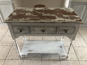 Shabby Chic Console Table for Sale in Ormond Beach, FL
