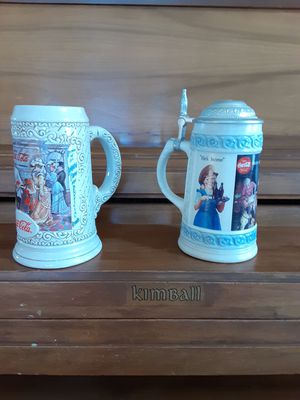 Coca Cola Steins for Sale in Henderson, CO