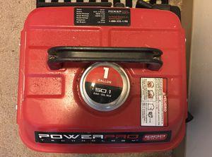 Powerpro technology 1000 watt generator for Sale in Natick, MA