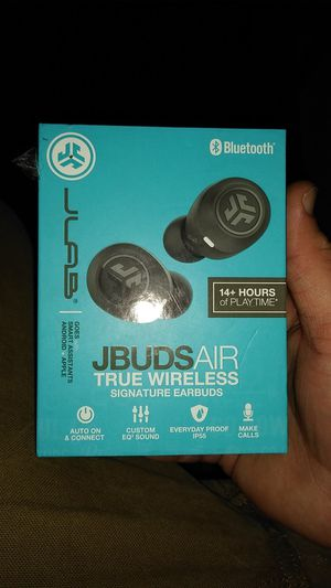 JLAB JBUDS AIR true wireless signature earbuds for Sale in Imperial, MO