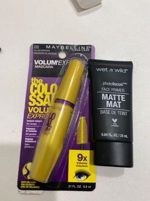 Primer and mascara for Sale in Moreno Valley, CA