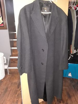 Pure wool full length Mens coat for Sale in Oak Lawn, IL