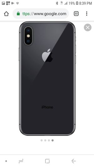 iPhone x for sale for Sale in Brooklyn, NY
